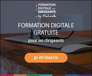 Inscrivez-vous à la Formation Digitale des Dirigeants