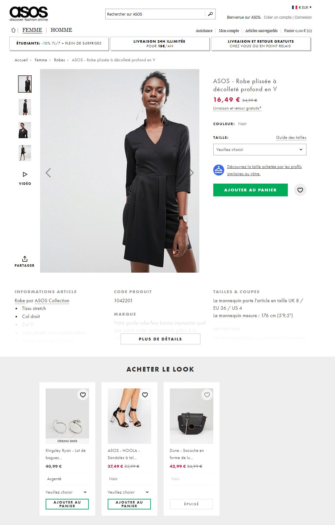 L'usage du cross selling sur un site e-commerce