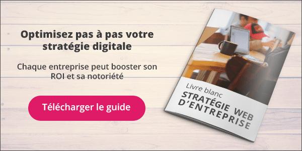 Livre Blanc de la stratégie digitale par l'agence Mediaveille