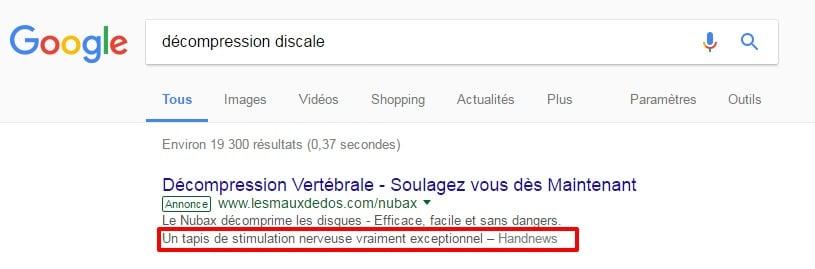 adwords Google extension d avis