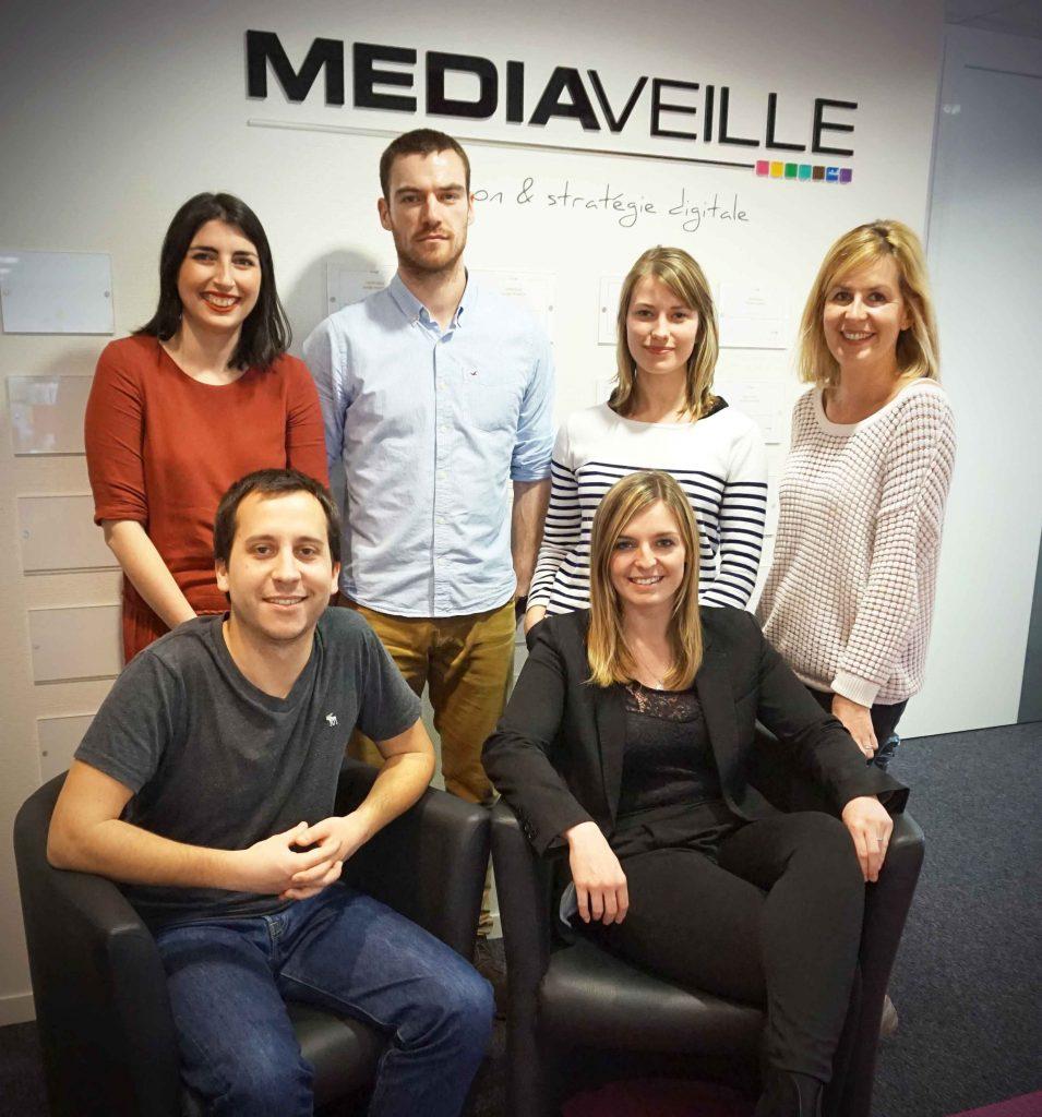 L'équipe d'experts de l'agence webmarketing Mediaveille Lyon