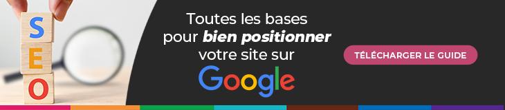 Guide SEO : les bases pour positionner votre site web