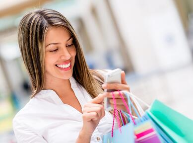 Shopping_fidelisation_client_point_de_vente_smartphone_emailing