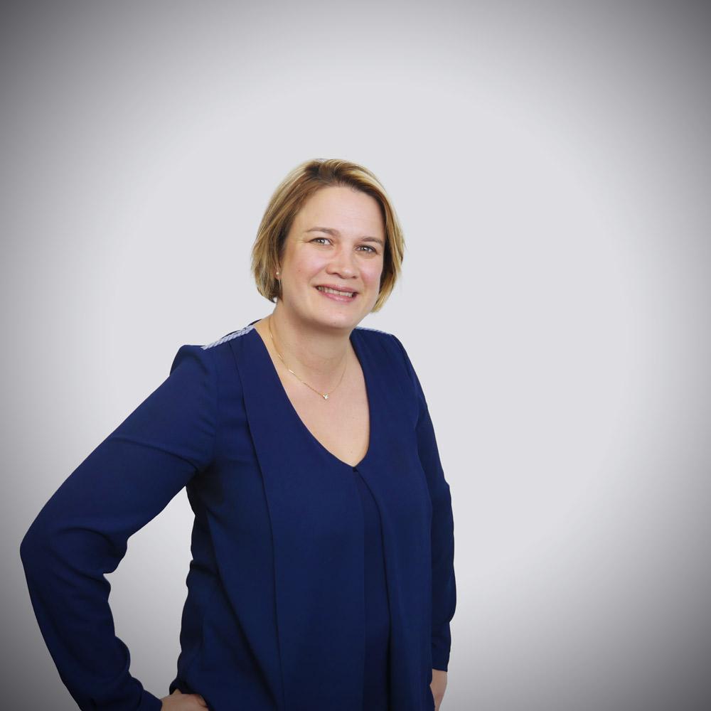 Sandrine Coulon, directrice de clientèle de notre agence digitale de Nantes
