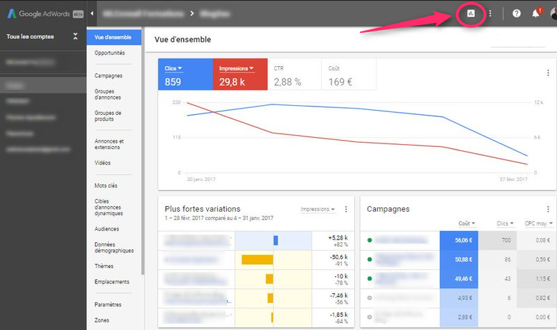 Interface-Adwords_Rapport
